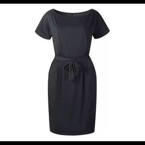 Glitz and Glam Dresses - Little Black T-Shirt Dress